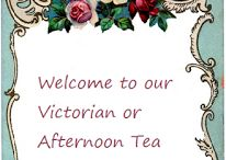 Food on Friday: Victorian or Afternoon Tea Party / This collection is now on.  To add to it just head on over to Carole's Chatter - http://caroleschatter.blogspot.co.nz/2015/11/food-on-friday-victorian-or-afternoon.html Cheers and Happy Thanksgiving