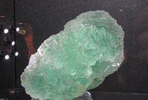 Cristalli / Foto fatte a una mostra di cristalli qualche anno fa