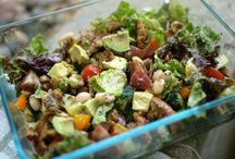 Salads / by Candace TeKrony