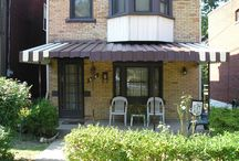 Aluminum Awnings / by Thomas V. Giel Garage Doors