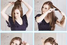 peinados / semirecogido