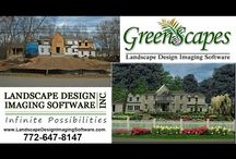 Landscape Design from a Digital Photo using GreenScapes. / GreenScapes Landscape Software Makes Designing Easy.  Forget about the pens, the paper, and having to go to a blueprint shop. Now, all you need to make a stunning design is a phone or camera, laptop or a windows tablet, the GreenScapes program, and your imagination.