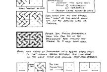 Zentangle Patterns / Patterns that I have found on various websites and YouTube.