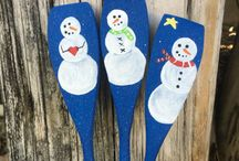 cucharas de navidad