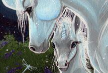 Art: Unicorn, Pegasus