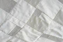 Wedding Dress Quilts / Inspiration for quilts made from wedding gowns / by Pamela Boatright