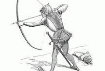 Choose your bow, Tudor! / Some Tudor Archers will be demonstrating longbow archery at Kentwell on the Saturday 1st & Sunday 2nd August 2015. And a few 'surprise' Tudors may be found in other locations.  Part of the '1915: The house at war, plus Tudor archery' Event.