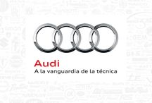 Audi Advertising / Grafic and audiovisual Audi advertising - Publicidad gráfica y audiovisual de Audi / by Publicidad y Coches Blog