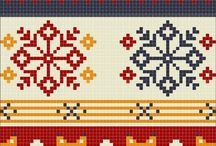 Fair Isle  /Nordic patterns