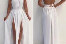Vestidos branco