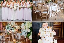 Wedding Color Palette Ideas / With these gorgeous color palette ideas, you'll find wedding planning to be much easier. Whether you choose to go light with soft colors such as blush, ivory and gold or bold with vibrant colors like royal purple, you'll find all the color combinations you can think of right here!