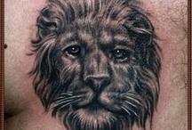 Lion tattoo / by Free Tattoo Designs