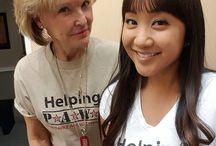 Helping Paws Volunteers / We love Our Volunteers