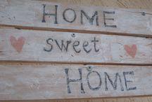 home sweet home welcome board