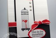 Stampin' Up - Simply Scored projects