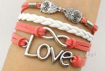 Sieraden / armbanden, kettingen, oorbellen....!