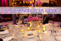 10 Tips for Decorating Your Wedding Venue / Thinking about decorating your wedding venue? Whether you are doing it to save some money or just because you want some input on how the wedding reception will look, there are ways to make it look just right. http://www.kimberleyandkev.com/10-tips-decorating-wedding-venue/