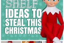 Elf On The Shelf Ideas (cause one day I'm gonna have kids and have to do this) / Elf on the shelf ideas / by Vicki