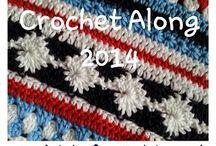 Crochet along 2014 / Stript blanket