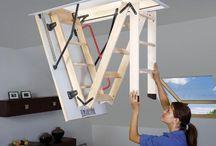 Bespoke Stairs / We design, build and install bespoke wardrobes, storage, loft beds, mezzanine floors, etc contact: e: martin@scandinavianloft.com t: 02034880448 Bespoke Loft ladders for compact living Scandinavian Loft