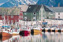 HOTELES EN NORUEGA / #Noruega tan al norte que llegas al Círculo #Polar Ártico, tan alto que puedes ver la aurora #boreal. http://www.quierohotel.com/hoteles-noruega.htm