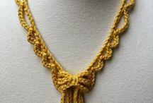CROCHET NECKLACE / Necklaces