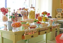 Baby Shower Candy Buffet  / Boy or girl? Twin or Triplets? A baby shower isn't a baby shower without a Candy buffet.