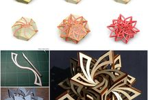 sculture di carta 3d