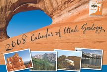 2008 Calendar of Utah Geology / All photos are submitted by UGS geologist and staff and chosen by a small committee of geologist and designers to bring you the wonder and awe of Utah's diverse geology.