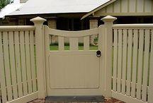 Front Garden / Front fencing