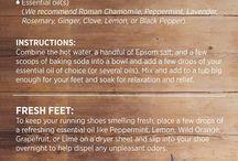 Foot soaks
