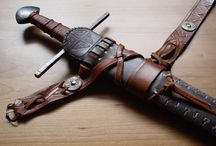 sword scabbards, belts and how to wear them.