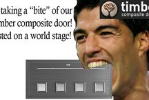 Just for Fun and Giggles ! / A lighthearted look at the world through a timber composite door!