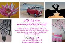MadeByFem♥ / Ben je op zoek naar een muurschildering, bellypaint of originele kraamcadeautjes? Dan ben je hier op het juiste adres. Vragen? Ga dan naar mijn website of mail.