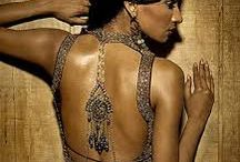 Fancy Neck and back designs