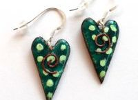 CORNISH HANDMADE JEWELLERY / Enamel and Copper, Stained Glass and Silver Cornish Handmade Jewellery