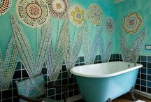 mosaic whimsical....
