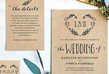 Wedding invitation and paper design