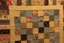 Quilts and aprons I made and other great things . (HA. HA ).