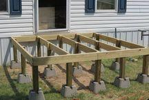 Basamento per casetta in legno