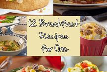 Recipes for One