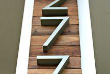 Números puertas