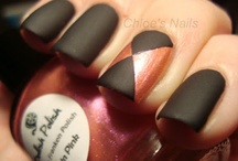 pretty nails. / by Haley Featherstone