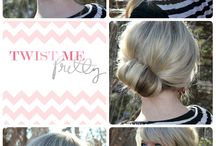 Ponytail Alternatives / by Spoiled Pretty