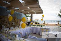 Zante mix and match decor / Reception decor for your wedding in Zante