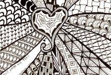 Zentangle Сердце