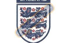 Football Club Logos Embroidery Designs