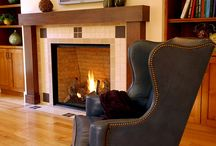 Living room craftsman fireplace ideas / by Jon Jenkins