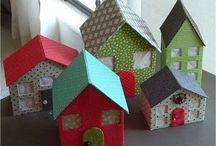 Talot paperista - Paperhouses