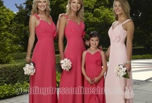 THE LONG AND.... / lONG BRIDAL PARTY DRESSES